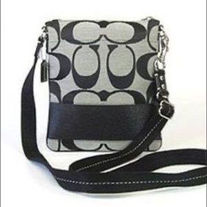 COACH CROSSBODY BAG -black